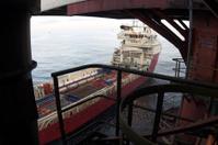 oil rig platform supply boat