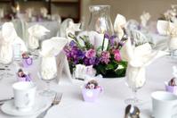 Elegant Wedding Table Setting. Reception.
