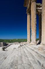 Roman temple in Dougga