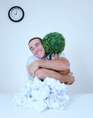 Activist Business Man, Saving Trees