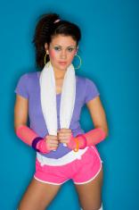 1980's Fitness Girl