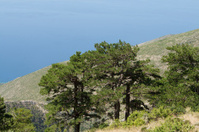 Mediterranean sea view in Albania.