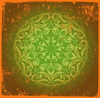 green globe mandala