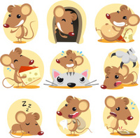 Mouse action set
