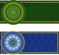 Henna Mandala Banners