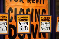 Closing down sale