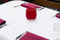 In bistro or restaurant