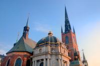 Stockholm, Sweden. The church Riddarholmen