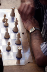 Street Chess game