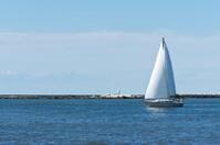 Sailing Lake Erie
