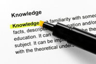 Knowledge text highlighted in yellow