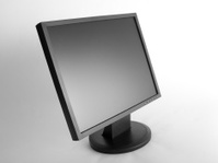 Black Flat Panel LCD Monitor