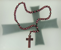 Rosary and Sign of the Cross
