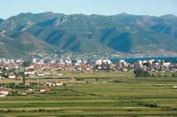 Pogradec City In Southeastern Albania