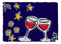 Christmas Drinks Illustration