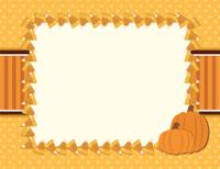 Candy Corn Fall Halloween Background