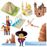 Mexico ikons