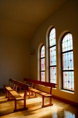 light in the church