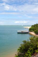 Boat in Tropical Beach (Brazil)