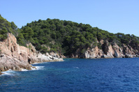 Mediterranean coast of Spain.