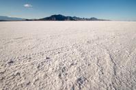 Great Salt lake desert in Bonneville