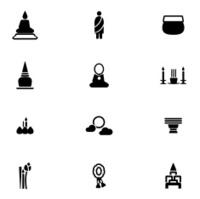 Buddhist Icon Set