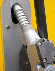 Gasoline Or Petrol Pump For Getting Fuel