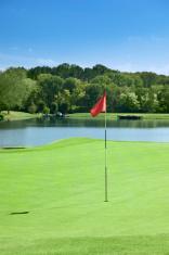 Golf Course Flag