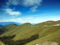 Alpine High Altitude Road in Taiwan
