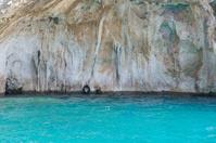 Turquoise Coast Of A Greek Island