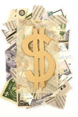 Dollar Sign Scrapbooking