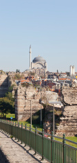 Mihrimah Sultan Mosque and City Walls