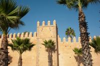 Walls of The Oudaya castle