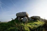 Stone Age Burial Mound, Denmark.