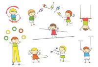 Juggling kids