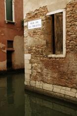 Quiet Canal, Venice, Italy.