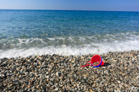 Beach and child bucket
