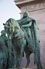 Hero's square detail. Budapest.