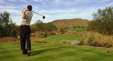 Golfer Panoramic