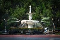 Forsyth Park Fountain - Savannah, Georgia