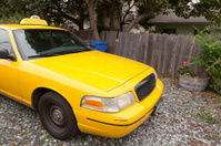 Blank Yellow Taxi