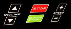 Qick start/stop button
