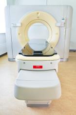 MR scanner at hospital