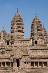Replica of the Angkor wat