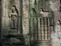 Bas-relief at Angkor Wat
