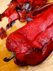 Peeled Roasted Red Pepper