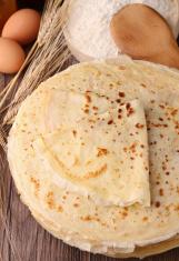 pancakes preparation