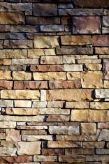 Natural Stone Wall Detail
