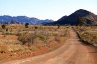 Dirt Road in the Flinders Ranges