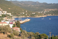 Village Kas in Antalya Province, Turkey